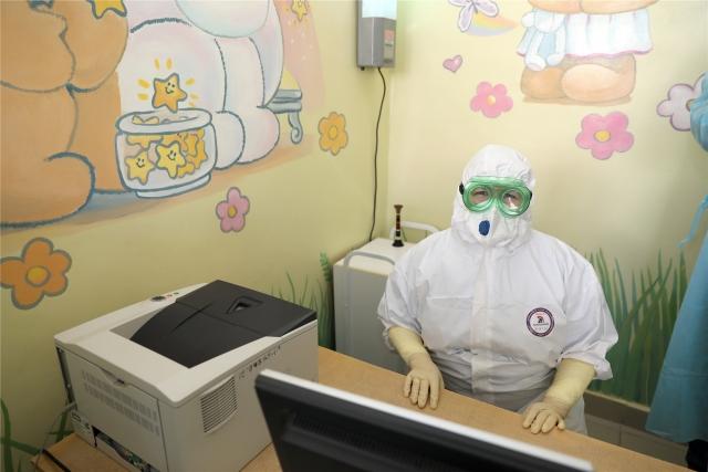 В акушерском стационаре № 3 городской клинической больницы в Чебоксарах