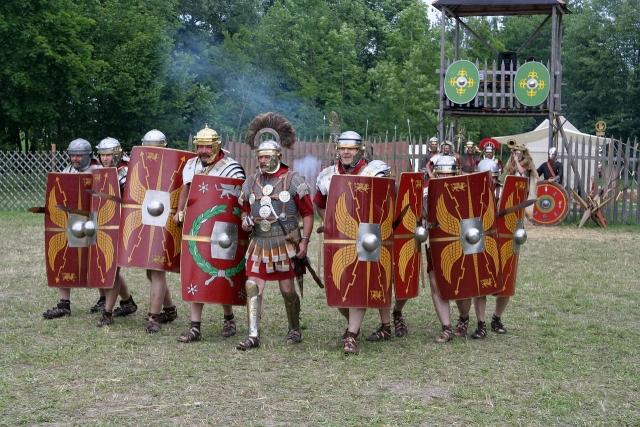 Римские легионеры. Реконструкция