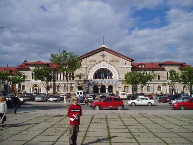 Железнодорожный вокзал Кишинева