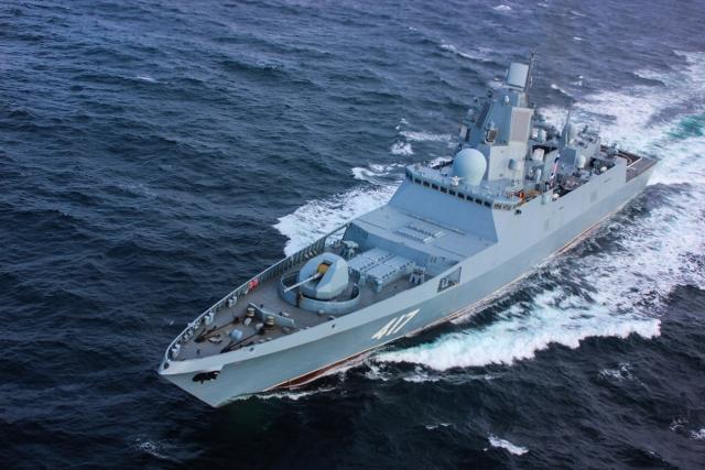 Фрегат «Адмирал Флота Советского Союза Горшков» проекта 22 350