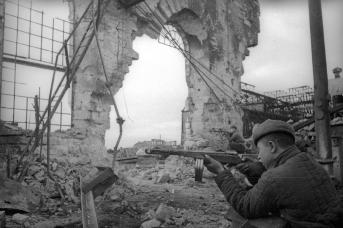 Освобождение Керчи. Бои в городе. Апрель 1944 года