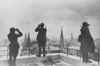 Москва в дни обороны