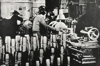 Военная продукция завода «Уралсельмаш». Курган. 1940-е