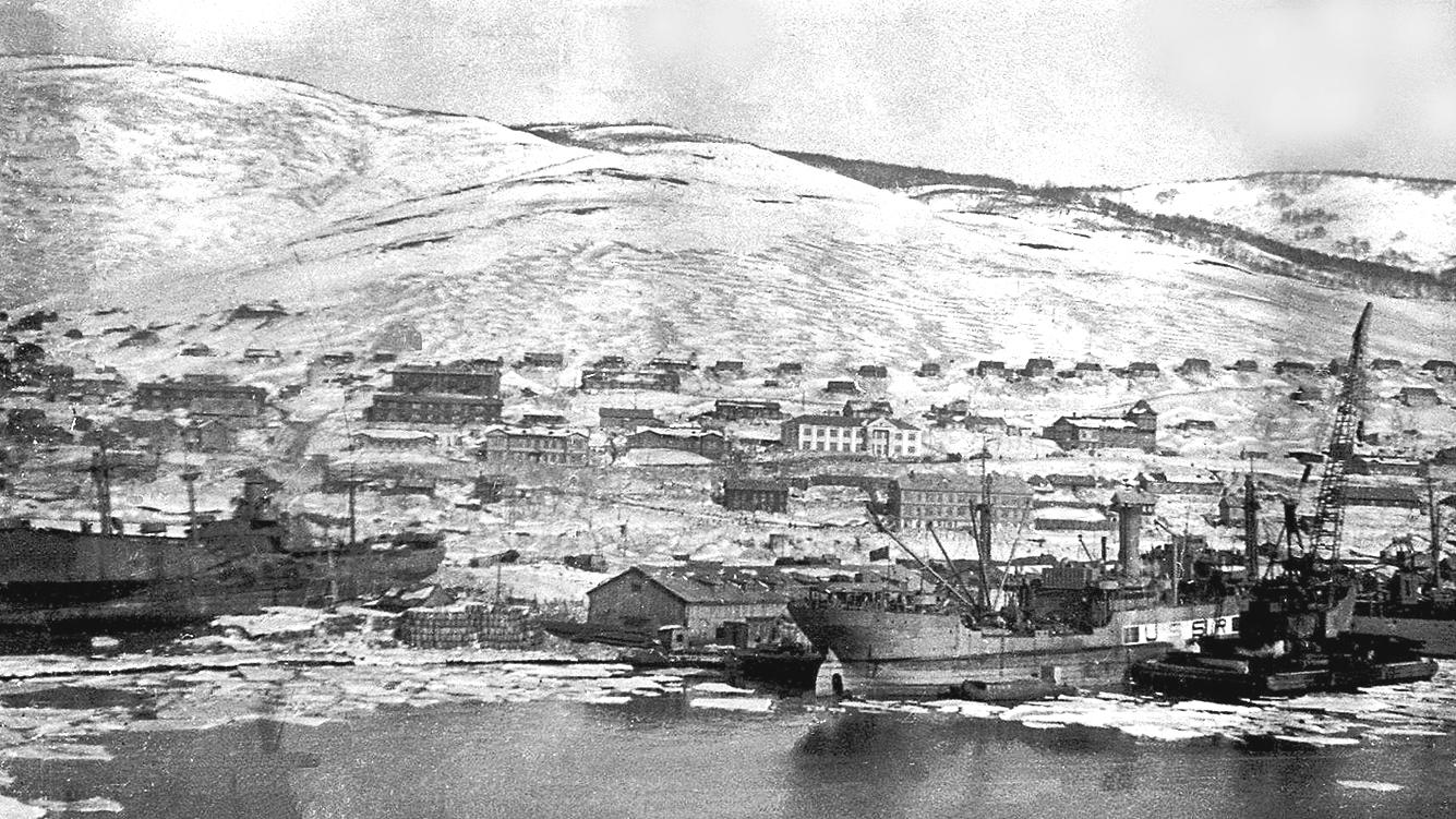 Петропавловский порт. 1944 г.