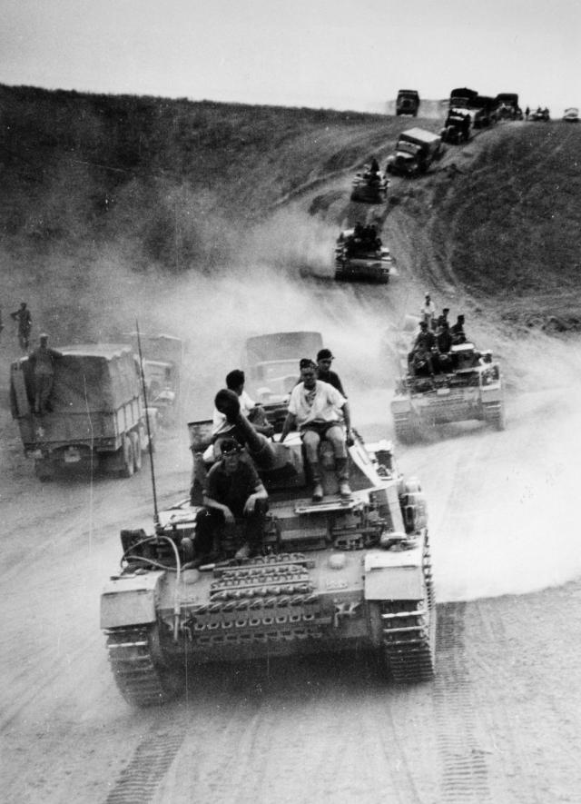 Немецкая армия наступает на Кавказе. 1942