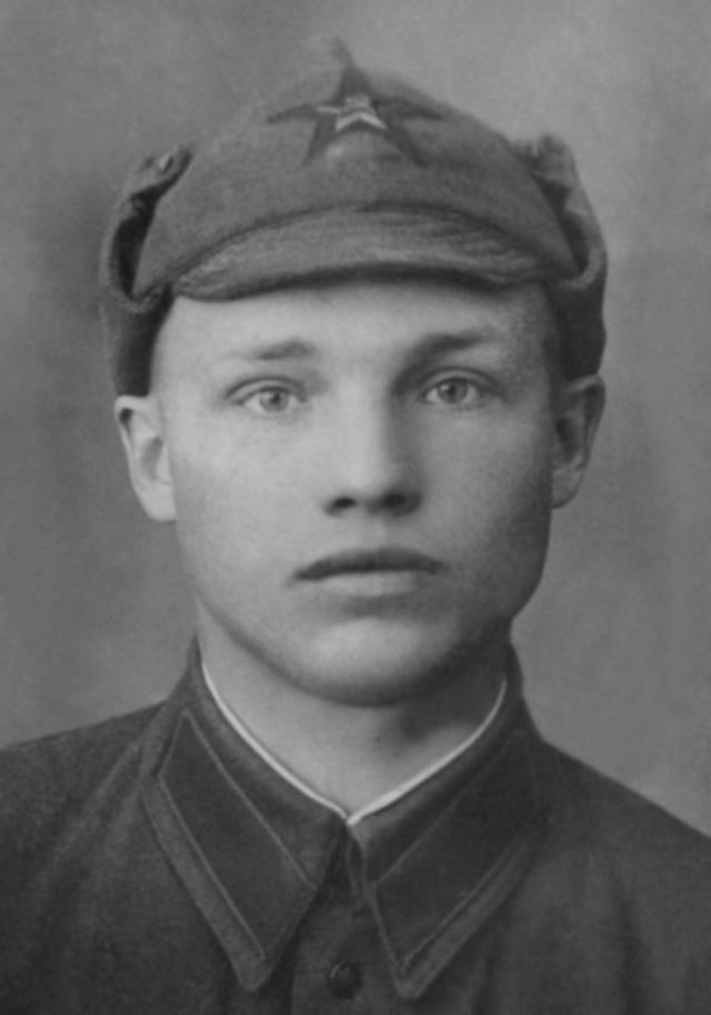 Герой Советского Союза Пётр Барбашов