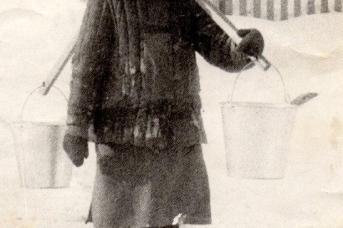 Матрена Лукинична Мастьянова. 1985 год
