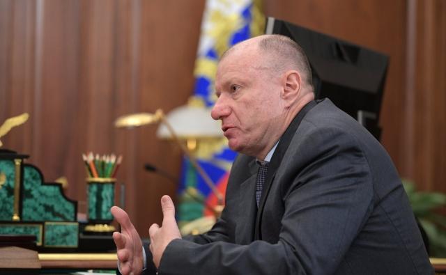 Генеральный директор ГМК «Норильский никель» Владимир Потанин