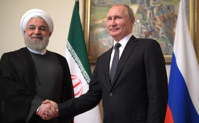Хасан Рухани и Владимир Путин