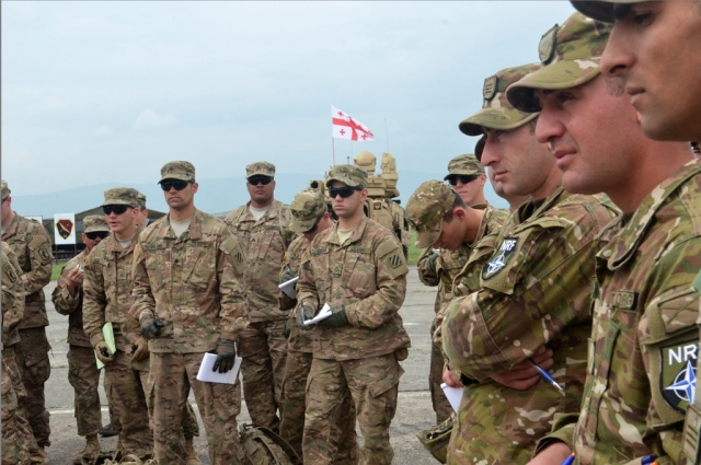 Совместные учения НАТО и Грузии