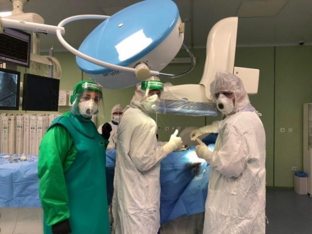 Врачи больницы скорой помощи впервые на Северном Кавказе установили кардиостимулятор пациенту с коронавирусом. Дагестан