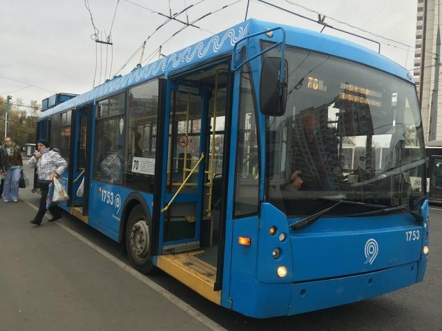 Троллейбус из Москвы