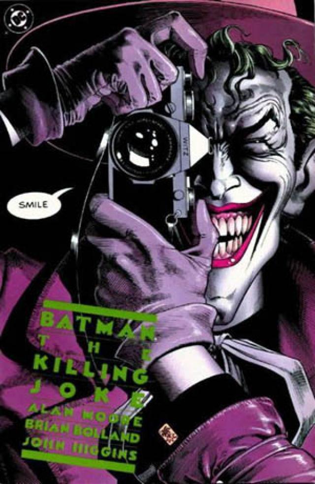 Обложка комикса «Бэтмен: Убийственная шутка». 1988