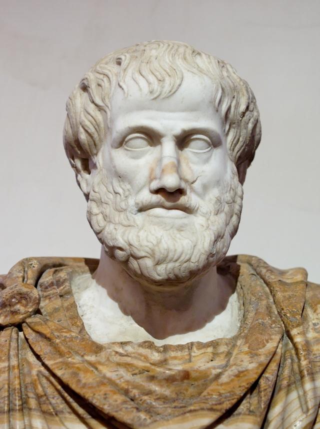 Лисипп. Бюст Аристотеля. Римская копия греческого бронзового оригинала (после 330 г. до н. э.)