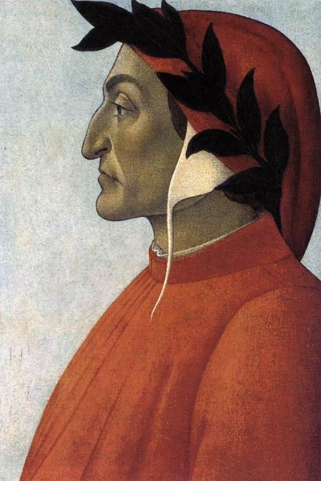 Сандро Боттичелли. Данте. 1495 г