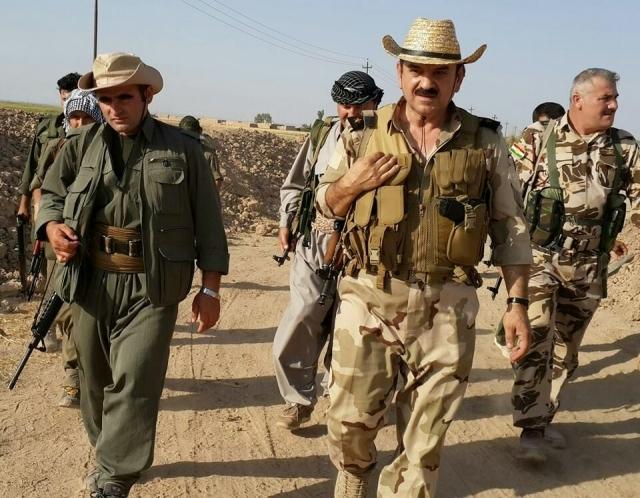Курды на границе Сирии и Турции