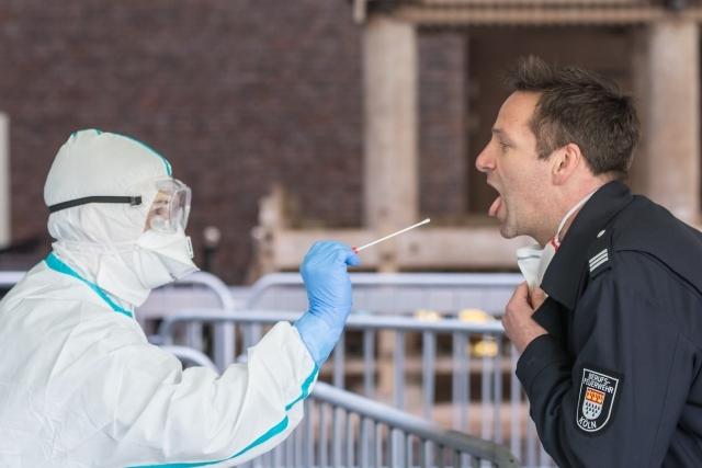 Тест на коронавирус. Германия