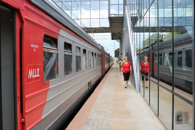 Станция МЦД1 «Сетунь»