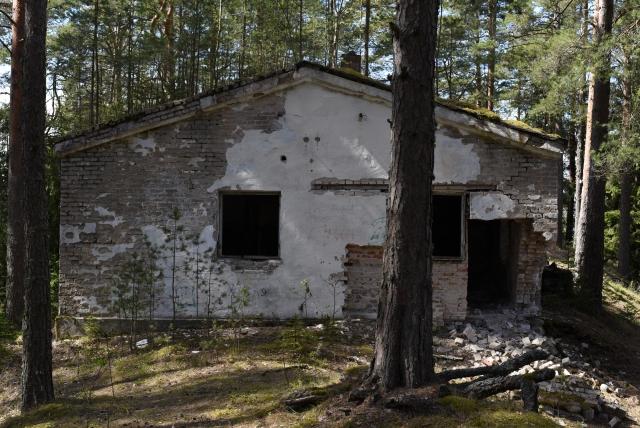 Военные постройки. Территория старой погранзоны