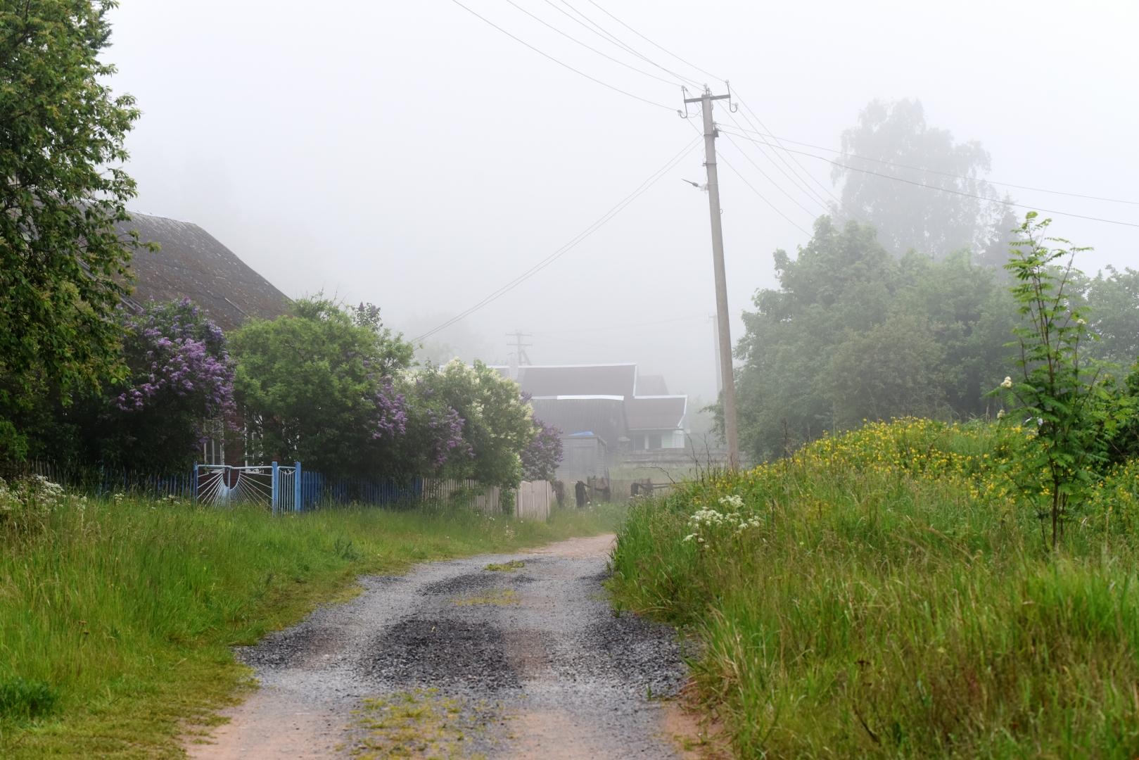 Деревня, на территории Кургальского