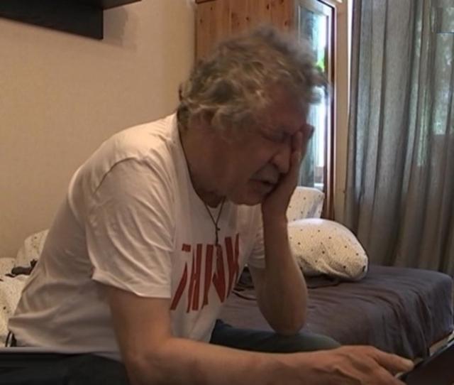 Михаил Ефремов на следующее утро после аварии