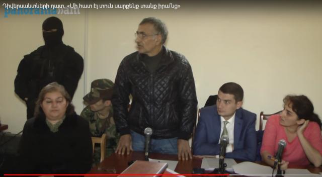 Суд над азербайджанскими диверсантами