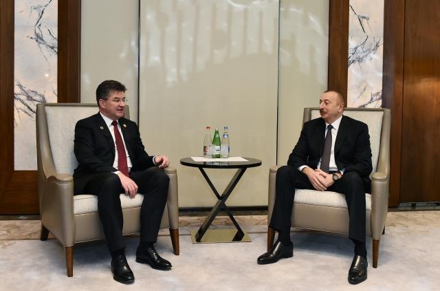Ильхам Алиев и Мирослав Лайчак