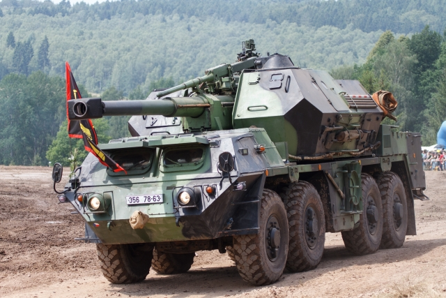 Самоходная пушка-гаубица Dana-M1