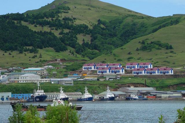 Село Малокурильское, o. Шикотан
