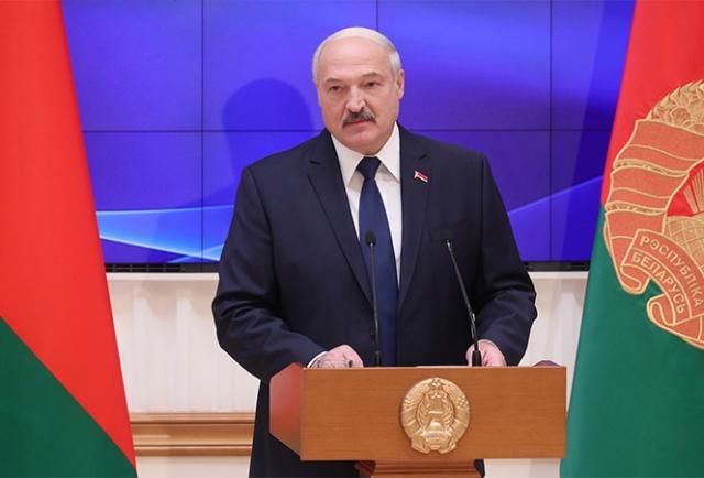 Обращение Александра Лукашенко к депутатам Палаты представителей и членам Совета Республики Национального собрания