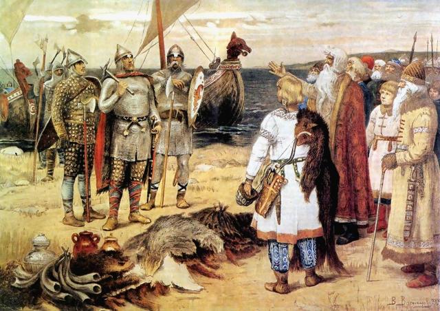 Виктор Васнецов. Варяги. 1909