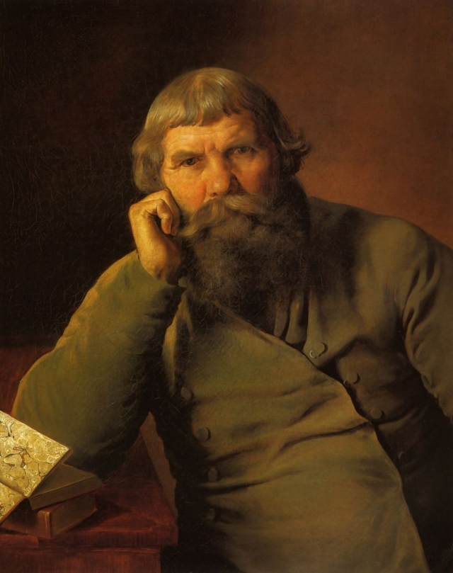 Гурий Крылов. Портрет купца