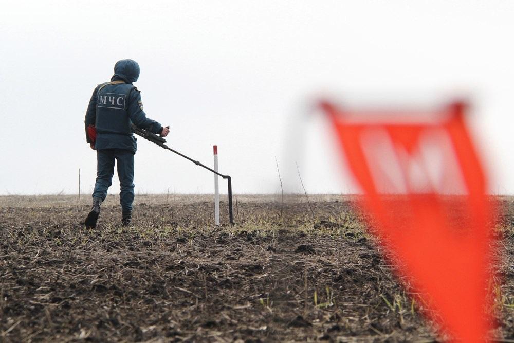 Диверсанта ВСУ разорвало начасти при попытке пробраться  натерриторию ДНР