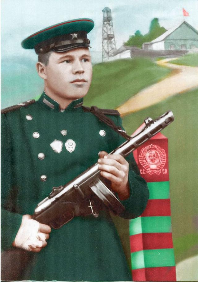 1951 год, Александр Иванович Кулагин. Фото из семейного архива