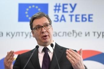 Антироссийская истерия президента Вучича продолжается