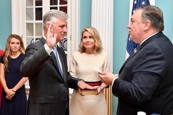 Белый дом подтвердил заражение советника О'Брайена коронавирусом