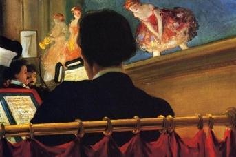 Эверетт Шинн. Оркестровая яма. 1906
