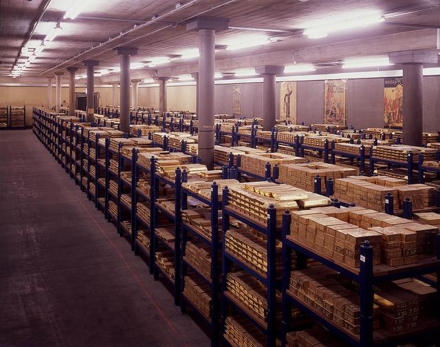 Золотохранилище Банка Англии