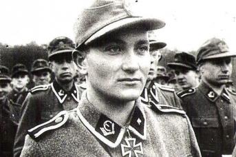Солдаты эстонской дивизии войск СС