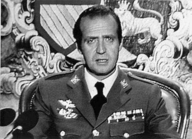 Хуан Карлос в 1981 году