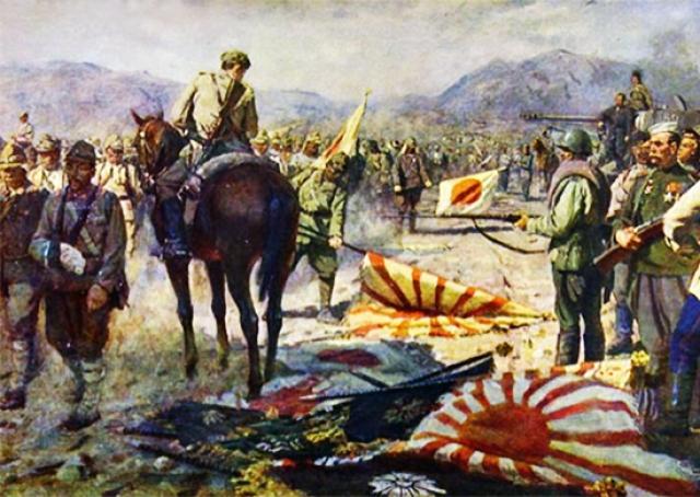 Павел Фёдорович Судаков. Капитуляция японской армии