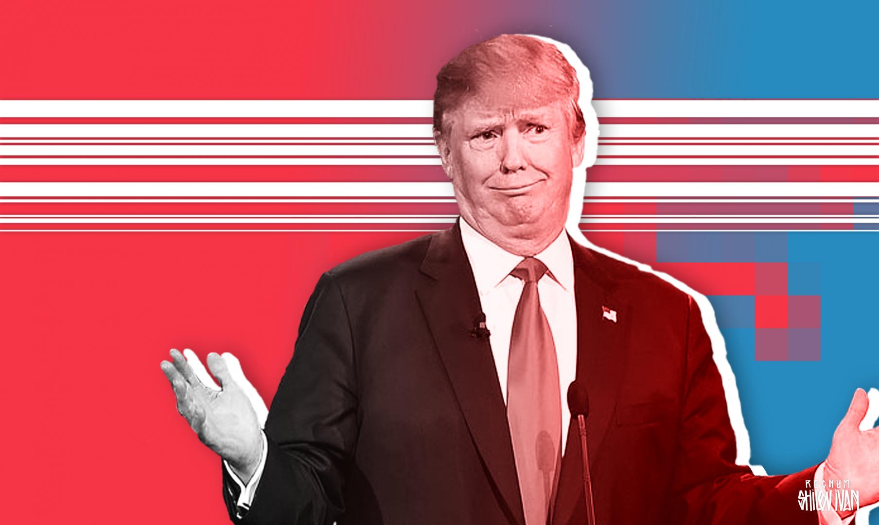 Трамп покинул пресс-конференцию после неудобного вопроса