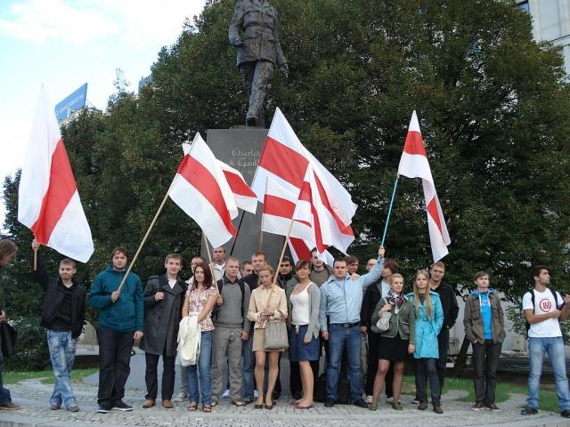 Белорусская оппозиция. Варшава