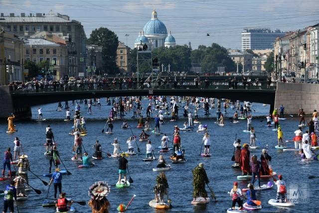 Фестиваль SUP-серфинга Фонтанка-SUP – 2020