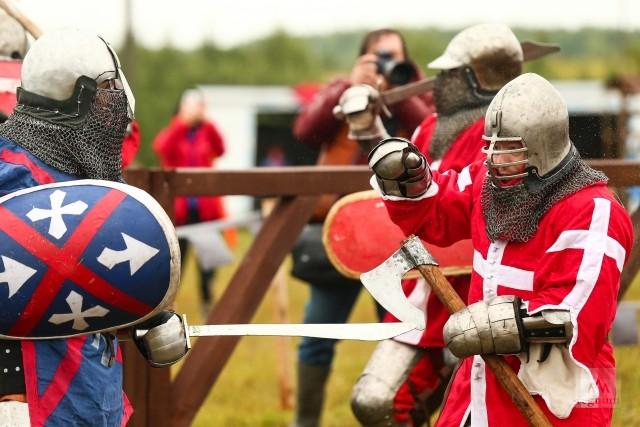 Поединки рыцарей средневековья