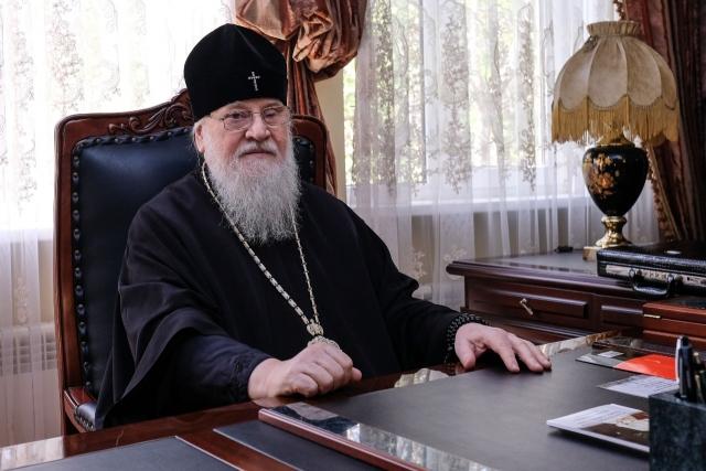 Митрополит Екатеринодарский и Кубанский Исидор (Кириченко) (1941-2020 гг), в 1977-1987 годах епископ Архангельский и Мурманский