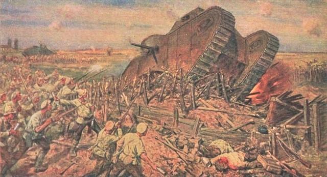 Иван Владимиров. Захват танков под Каховкой. 1927