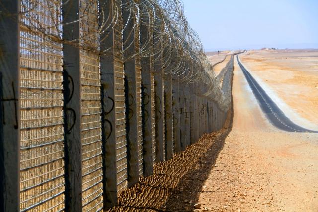 Израильская стена безопасности