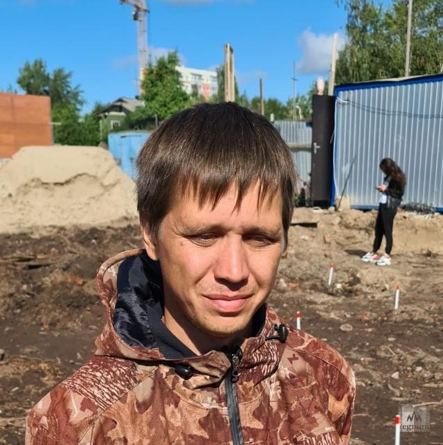 Сотрудник Института археологии РАН Юрий Хмелисский