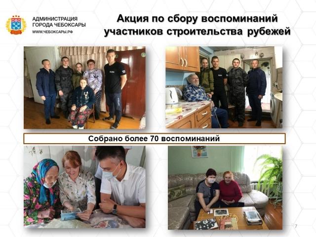 Встречи с участниками строительства оборонительных рубежей